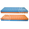 Kit Galaxy - Materasso memory e fresh gel + Rete a doghe + Cuscini memory