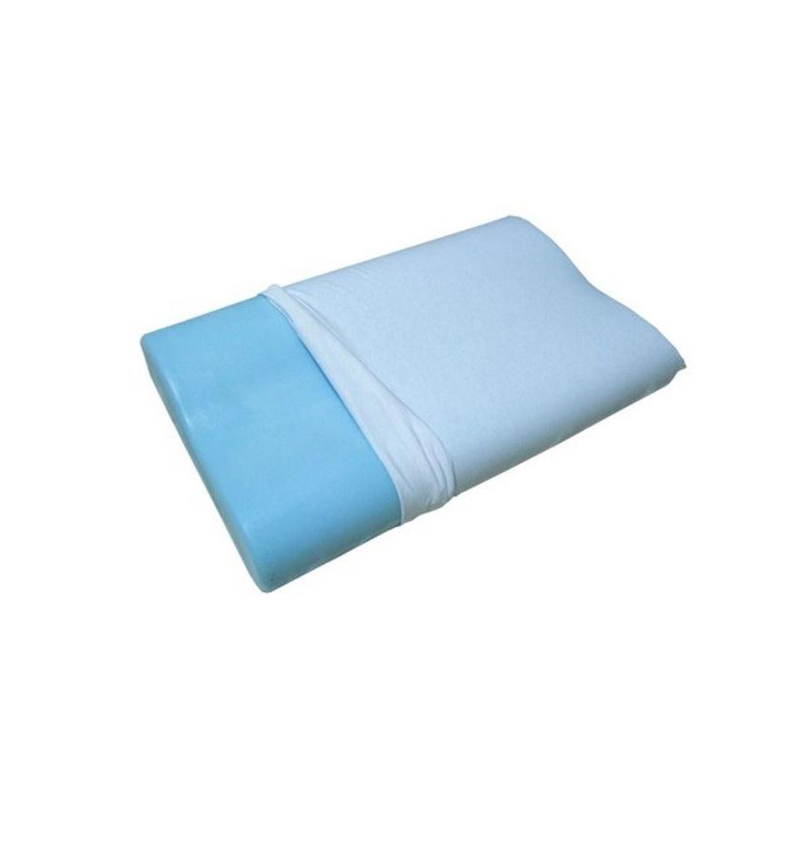 Cuscino per la cervicale in memory foam e polar gel - Cuscini letto per cervicale ...