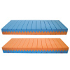 Materasso una piazza e mezza di coppia waterfoam multionda a doppia densità - modello LUI e LEI