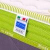 Kit TOP 30 - Materasso top 30 in memory gel 4 cm con rete a doghe e cuscini memory