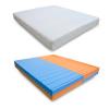 Materasso di coppia waterfoam multionda a doppia densità - modello LUI e LEI