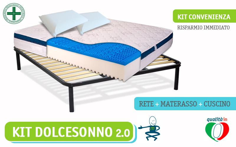 kIT-DOLCE-SONNO-MATERASSO-RETE