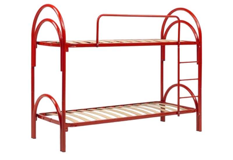 letto-a-castello-rosso