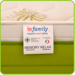 Materasso-memory-relax-aloe